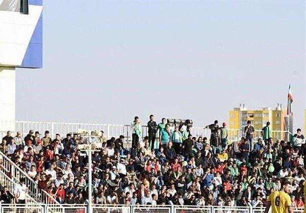 استادیوم بنیان دیزل پر شد، حضور طرفداران استقلال در تبریز
