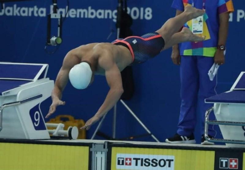 شنای رده های سنی قهرمانی آسیا، قره حسنلو به مدال برنز رسید