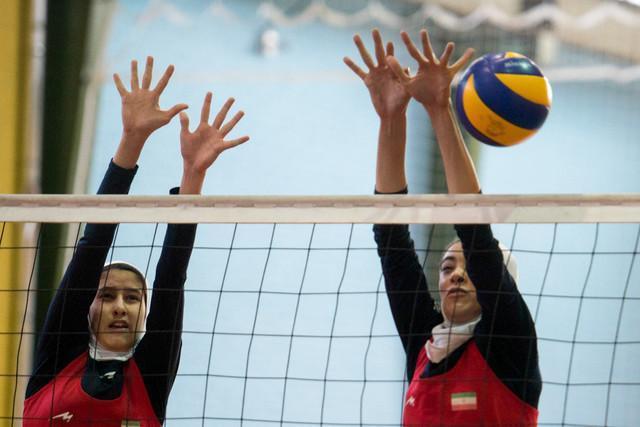 دختران والیبالیست مسابقات آسیایی را با برد آغاز کردند