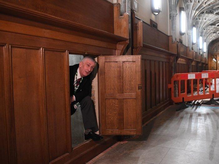 کشف گذرگاهی مخفی در ساختمان مجلس ، رازهای عجیبی که برملا شد