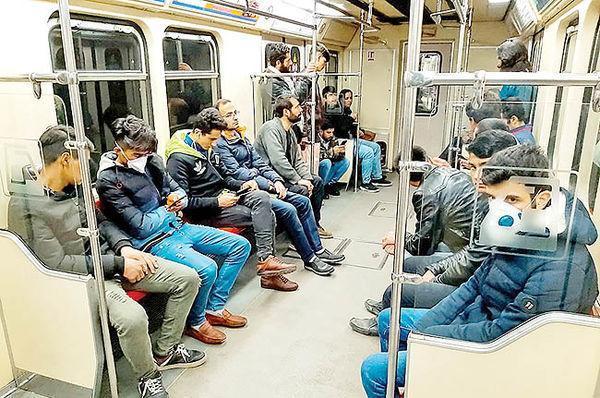 استفاده از ماسک در مترو از روز شنبه 13 اردیبهشت اجباری شد