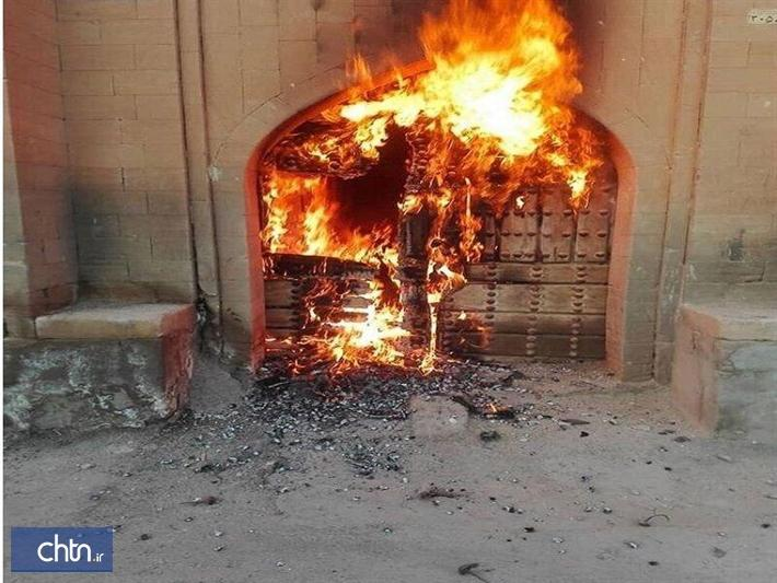 توضیحات معاون میراث فرهنگی خوزستان خصوص آتش سوزی خانه مرعشی شوشتر