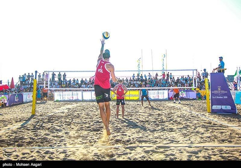 تورهای ملی والیبال ساحلی بندرترکمن آق قلا برگزار می شود