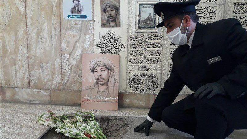 #نسیم-افغانی مهمان خصوصی امام رضا (ع) شد
