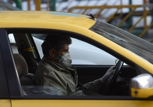 شروع ثبت تخلف برای تاکسیرانان بدون ماسک