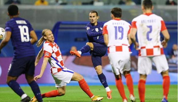کرواسی 1 - 2 فرانسه؛ حذف نایب قهرمان دنیا