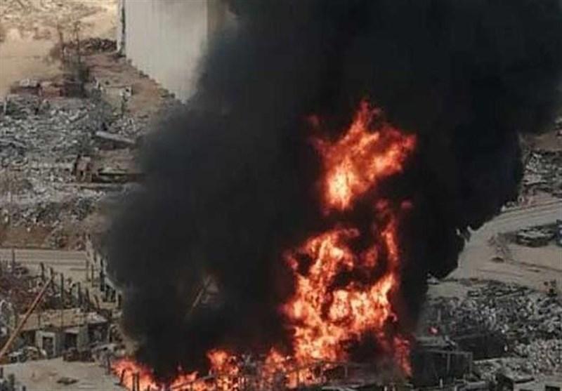 لبنان، واکنش میشل عون و دادستان کل به آتش سوزی در بندر بیروت
