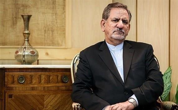 جهانگیری در جلسه رأی اعتماد وزیر پیشنهادی صمت شرکت کرد