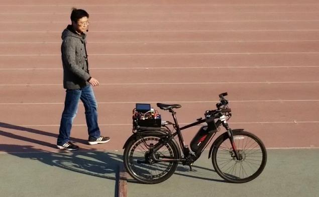 ساخت دوچرخه ای که صاحبش را دنبال می نماید