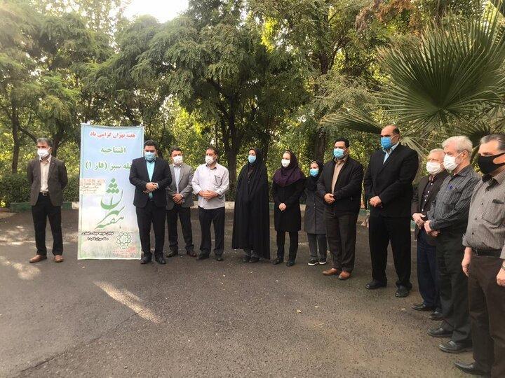 انتخاب محله مهران به عنوان محله سبز منطقه 4 در هفته تهران