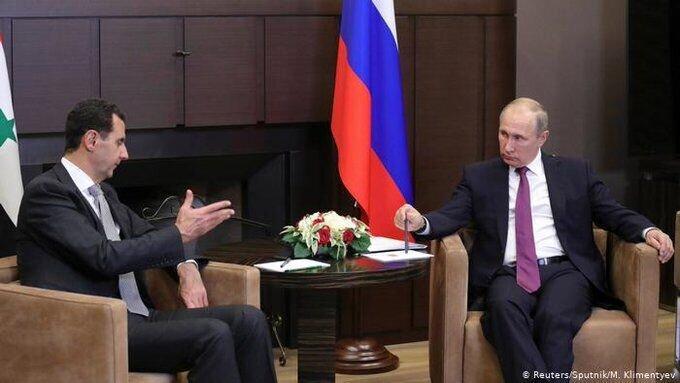 پوتین در نشست با بشار اسد: کانون تروریسم بین المللی در سوریه نابود شد
