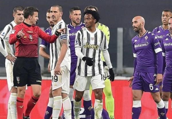 کوادرادو در صدر رده بندی بی انضباط ترین بازیکنان 5 لیگ معتبر اروپا
