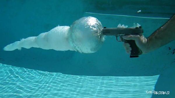 فناوری نظامی آمریکا برای شلیک دقیق در آب