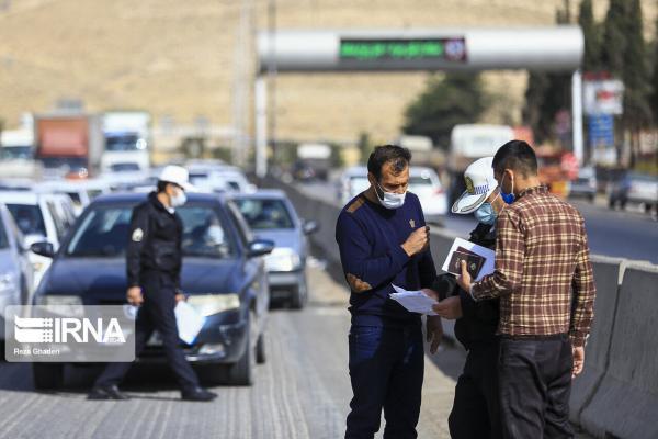 خبرنگاران هفت هزار و 993 خودرو متخلف در ایلام جریمه شدند