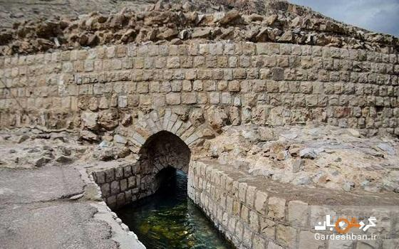 گرداب سنگی خرم آباد؛ یادگار ساسانیان در لرستان، عکس