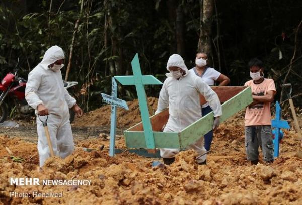 بیش از 60 هزار نفر در برزیل قربانی کرونا شدند
