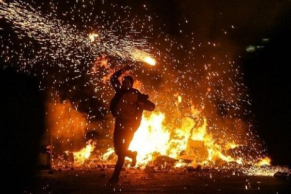 افزایش احتمال ابتلا به کرونا در بیماران سوخته ، چهارشنبه سوری در خانه بمانید