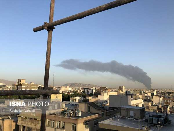 پالایشگاه تهران دچار حریق شد