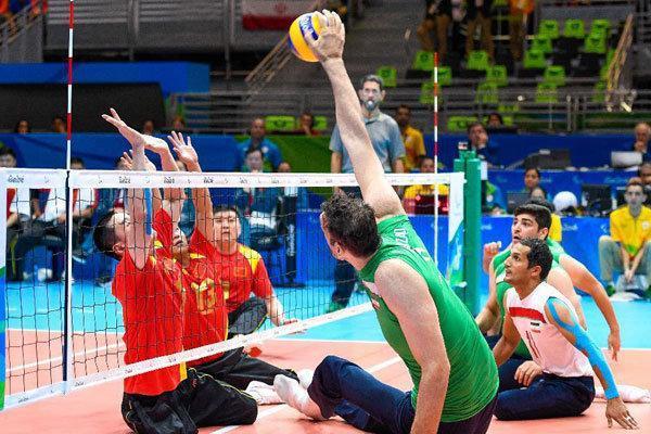 ملاقات تدارکاتی تیم ملی والیبال نشسته با قهرمان اروپا در تهران
