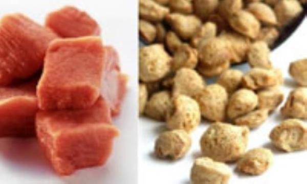 مقایسه گوشت و سویا